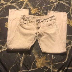 Hudson tan jeans